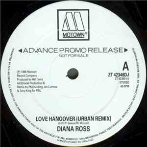 Diana Ross - Love Hangover (PWL 88 Remix) download